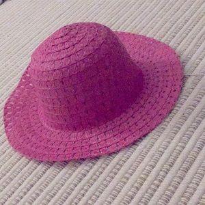 Cute pink hat